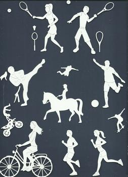 4 group combine sports die cuts sub