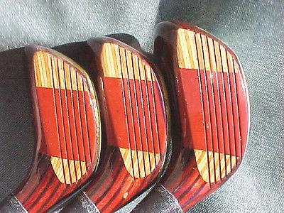 Spalding Executive Clubs Lady Refinished Driver 3 w New Grips