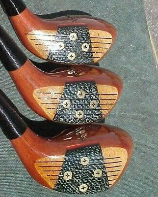 PERSIMMON Honma Lady Woods Set Driver 4 New Grips