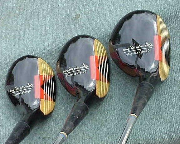 PERSIMMON Lady Professional Woods Golf Clubs 5