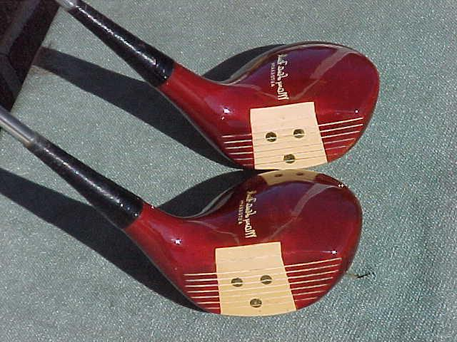 Solid PERSIMMON Lady Mary Faulk Woods Set Driver &