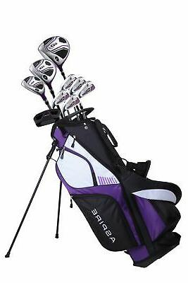 Aspire Right Hand Golf Package Set - 3 Colors