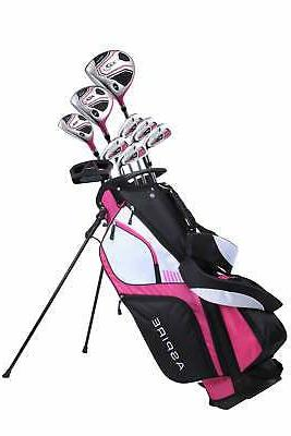 xd1 ladies complete right hand golf club