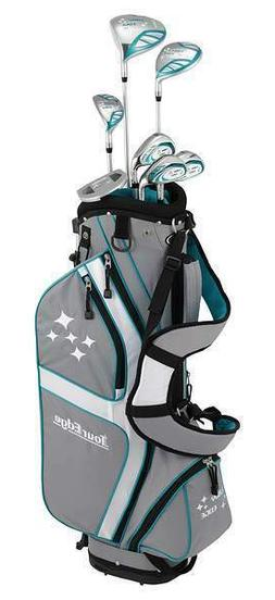 Tour Edge Lady Edge Starter Set Teal  MSRP $300 RIght Handed