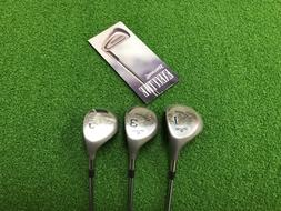 NEW Spalding Golf EXECUTIVE Womens 1 3 5 WOOD SET Right Stee