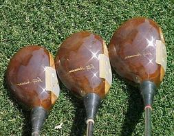 PERSIMMON Spalding Betty Jameson Refinished Lady Woods Set G