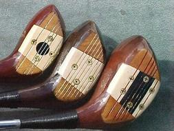 PERSIMMON Macgregor Louise Suggs Lady Golf Clubs MIX Set Dri