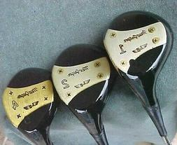 PERSIMMON Macgregor Louise Suggs Lady Refinish Golf Clubs Se