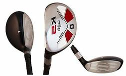 Senior Ladies Majek Golf All Hybrid Partial Set  Lady Flex U