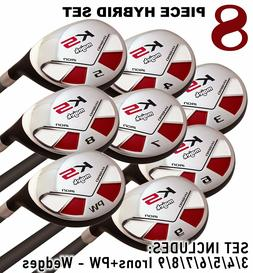 Petite Senior Women's Majek Golf Hybrid Full Set  Lady Flex
