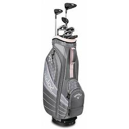 CALLAWAY WOMENS SOLAIRE CHERRY BLOSSOM 8 PIECE COMPLETE SET
