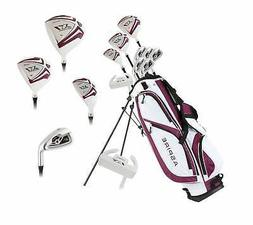 Aspire X1 Ladies Women's Right Handed Golf Club Package Set